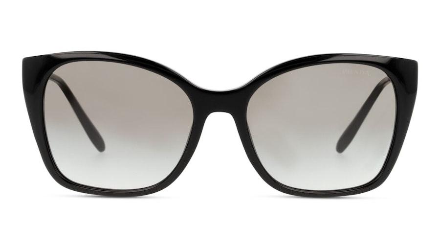 Prada PR 12XS (1AB0A7) Sunglasses Grey / Black