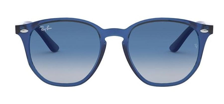 Ray-Ban Juniors RJ 9070S Children's Sunglasses Blue / Blue