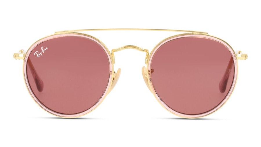 Ray-Ban Juniors RJ 9647S (281/75) Children's Sunglasses Pink / Gold