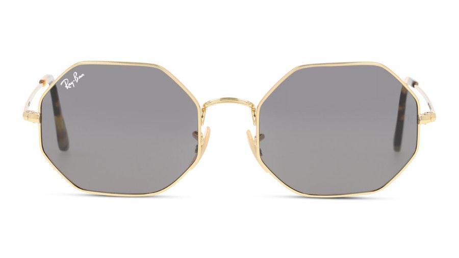 Ray-Ban Octagon RB 1972 Unisex Sunglasses Grey / Gold
