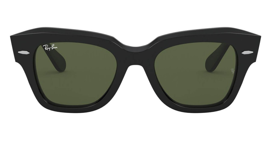 Ray-Ban State Street RB 2186 Unisex Sunglasses Green/Black