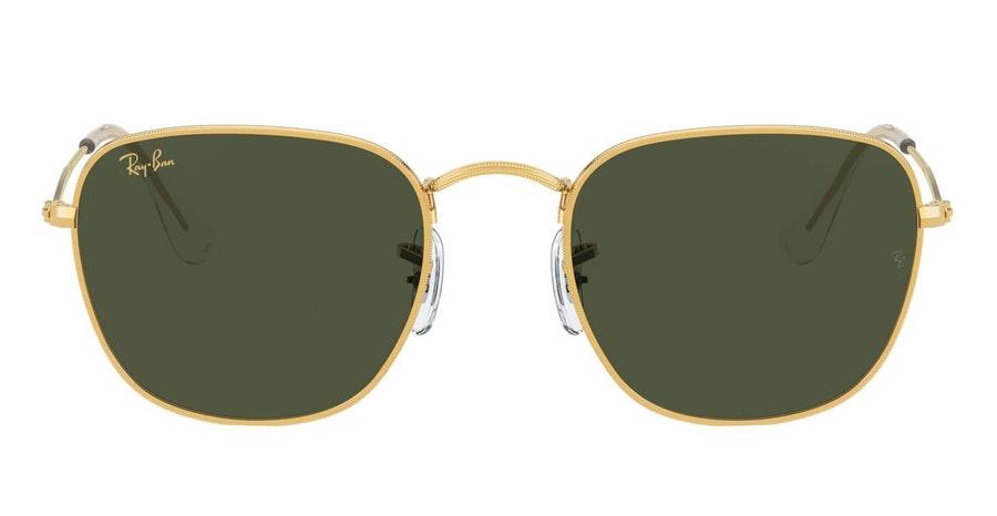 Ray-Ban Frank RB 3857 (919631) Sunglasses Green / Gold
