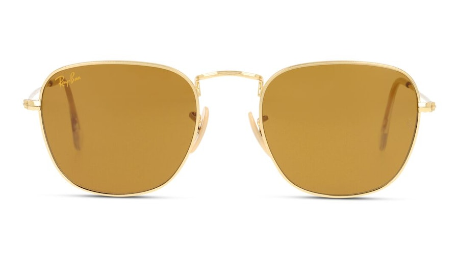 Ray-Ban Frank RB 3857 Men's Sunglasses Brown / Gold