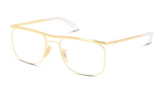 Olympian IX RX 6519 Men's Glasses Transparent / Gold