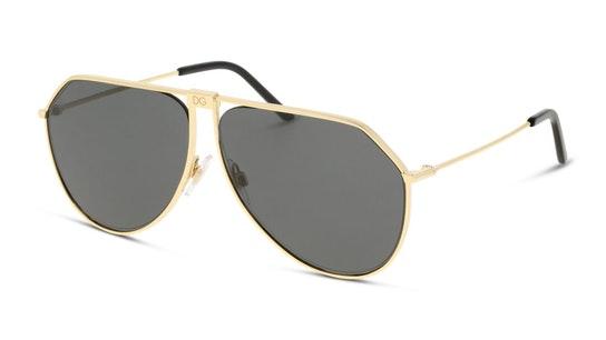 DG 2248 Men's Sunglasses Grey / Gold