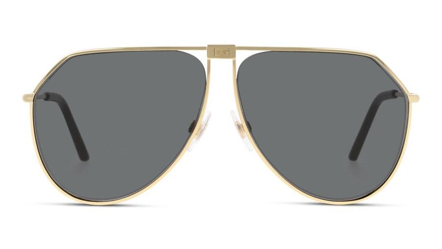 Dolce & Gabbana DG 2248 (31809) Sunglasses Grey / Gold
