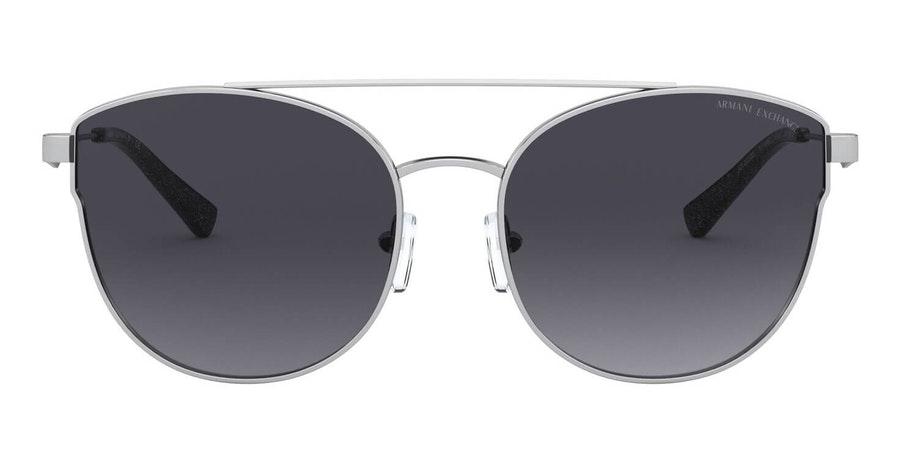 Armani Exchange AX 2032S Women's Sunglasses Grey / Silver