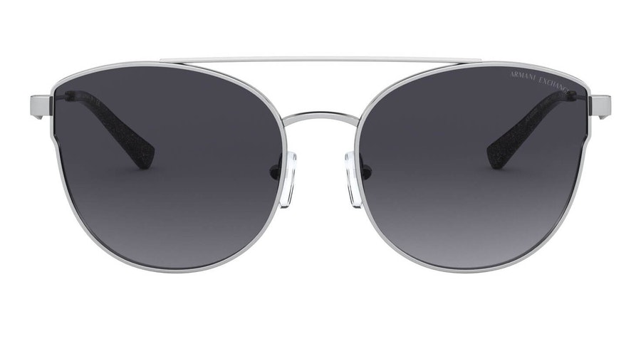 Armani Exchange AX 2032S Women's Sunglasses Grey/Silver
