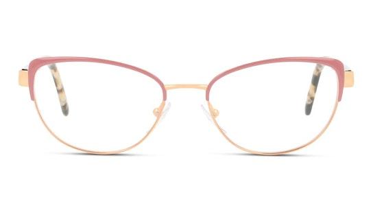 PR 63XV Women's Glasses Transparent / Pink