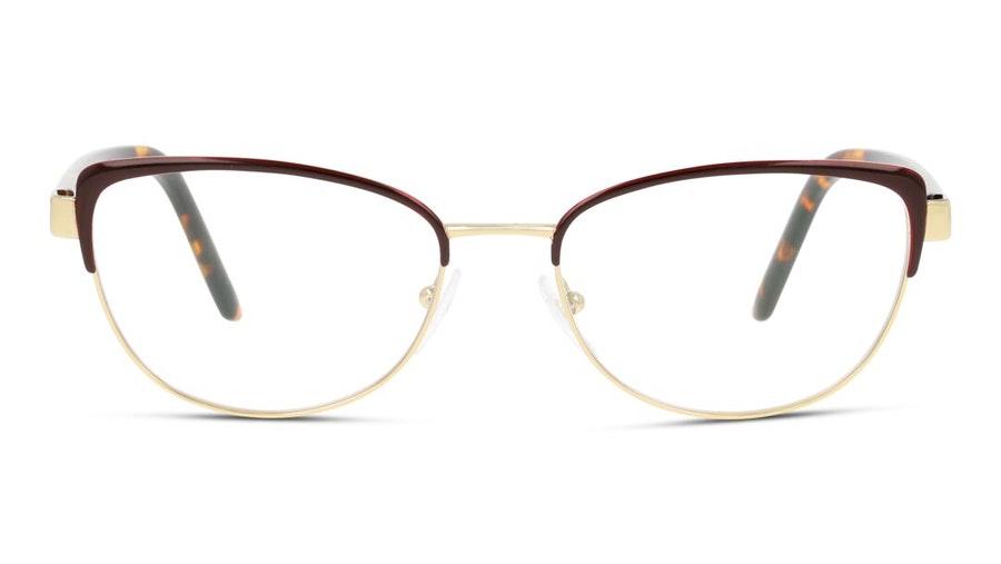 Prada PR 62XV Women's Glasses Burgundy