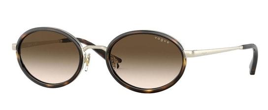 MBB x VO 4167S Women's Sunglasses Brown / Gold