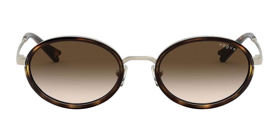 Vogue MBB x VO 4167S Women's Sunglasses Brown / Gold