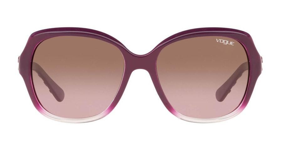 Vogue VO 2871S Women's Sunglasses Brown/Violet