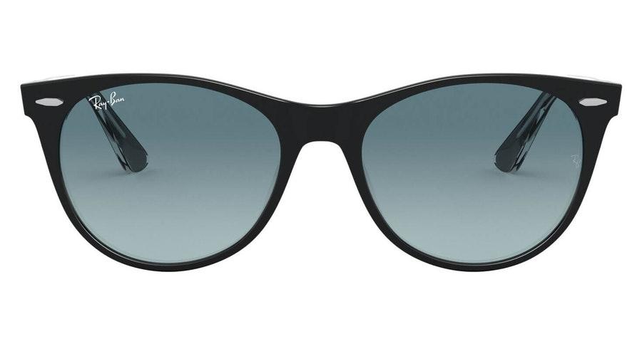 Ray-Ban Wayfarer II RB 2185 Men's Sunglasses Grey / Black