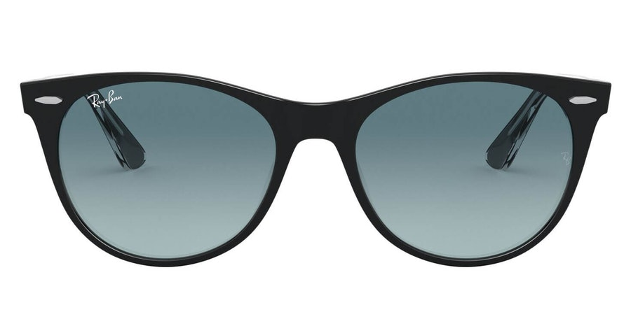 Ray-Ban Wayfarer II RB 2185 Men's Sunglasses Grey/Black