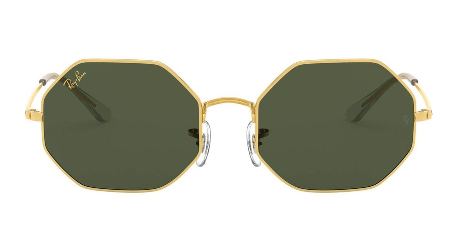 Ray-Ban Octagon RB 1972 Unisex Sunglasses Green/Gold