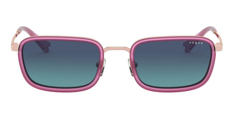 Vogue MBB x VO 4166S Women's Sunglasses Blue / Gold