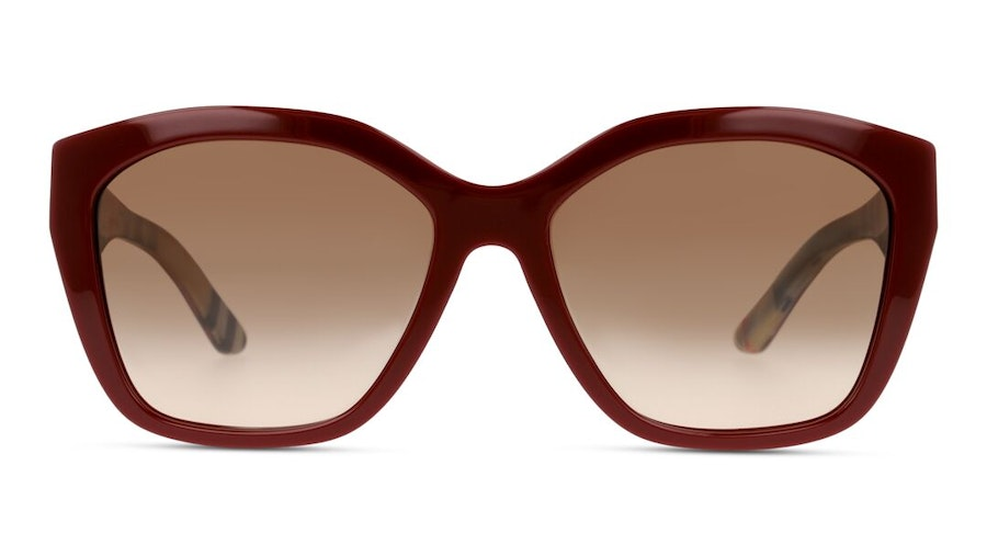 Burberry BE 4261 (383513) Sunglasses Brown / Red
