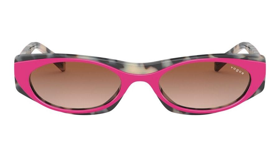 Vogue MBB x VO 5316S (281513) Sunglasses Brown / Pink