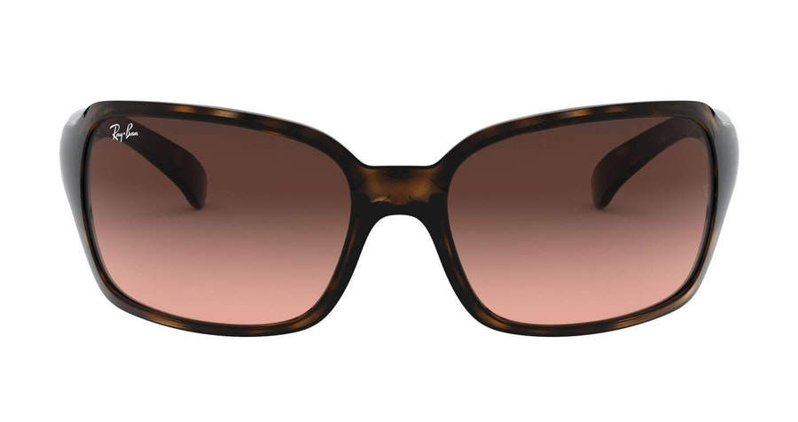 Ray-Ban RB 4068 (642/A5) Sunglasses Brown / Tortoise Shell