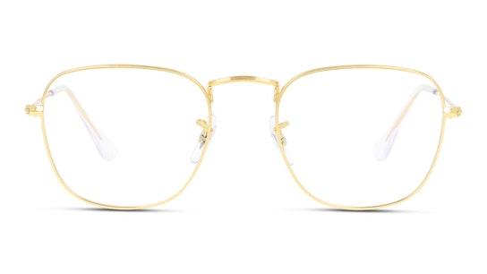 RX 3857V Men's Glasses Transparent / Gold