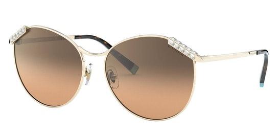 TF 3073B Women's Sunglasses Brown / Gold