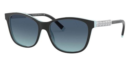 TF 4174B Women's Sunglasses Blue / Black