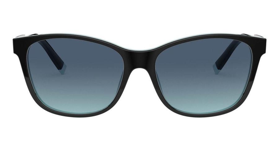 Tiffany & Co TF 4174B (80559S) Sunglasses Blue / Black