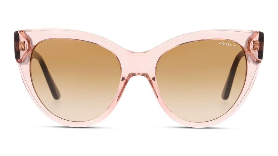 Vogue VO 5339S (282813) Sunglasses Brown / Pink