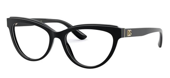 DG 3332 Women's Glasses Transparent / Black