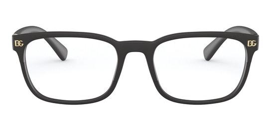 DG 5056 (Large) Men's Glasses Transparent / Black