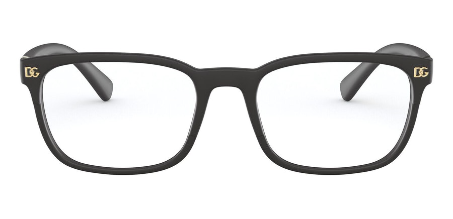 Dolce & Gabbana DG 5056 (Large) Men's Glasses Black