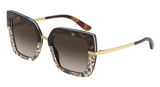DG 4373 Women's Sunglasses Brown / Tortoise Shell