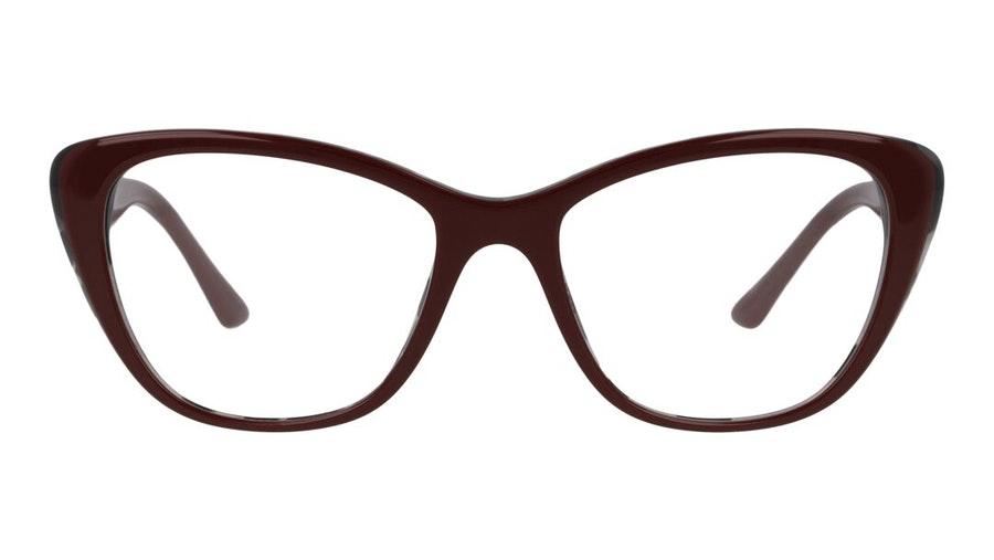 Prada PR 04WV Women's Glasses Burgundy