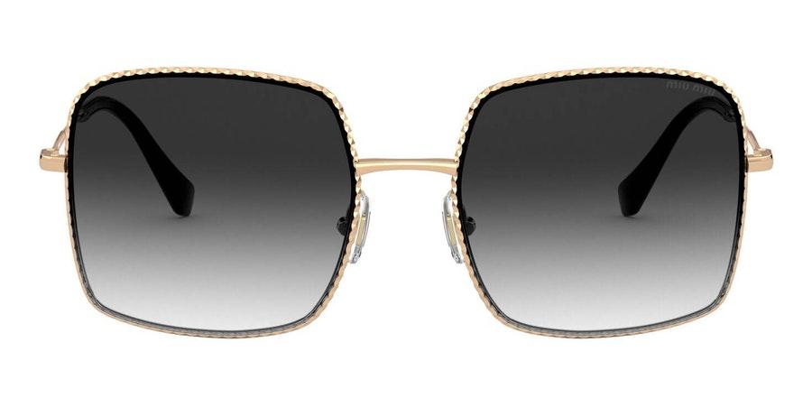 Miu Miu MU 61VS Women's Sunglasses Grey/Gold