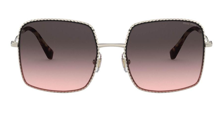 Miu Miu MU 61VS (ZVN146) Sunglasses Black / Gold