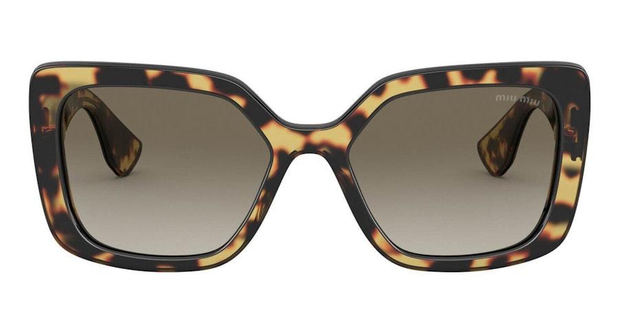 Miu Miu MU 09VS Women's Sunglasses Grey / Havana