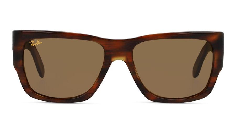 Ray-Ban Wayfarer Nomad RB 2187 Men's Sunglasses Brown/Havana