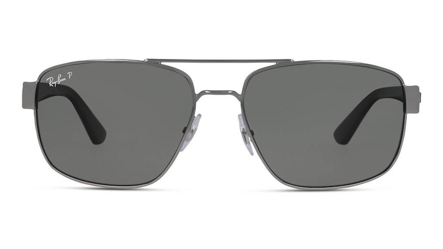 Ray-Ban RB 3663 (004/58) Sunglasses Grey / Silver