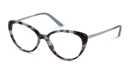 PR 62UV Women's Glasses Transparent / Blue