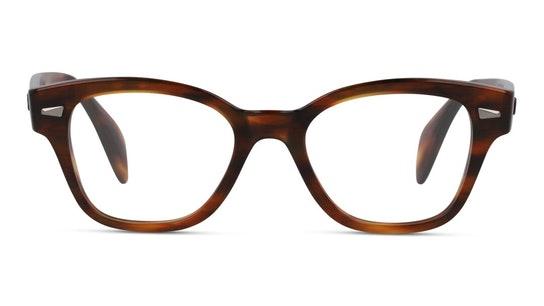 RX 0880 Men's Glasses Transparent / Tortoise Shell