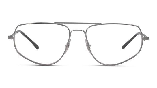 RX 6455 Men's Glasses Transparent / Black