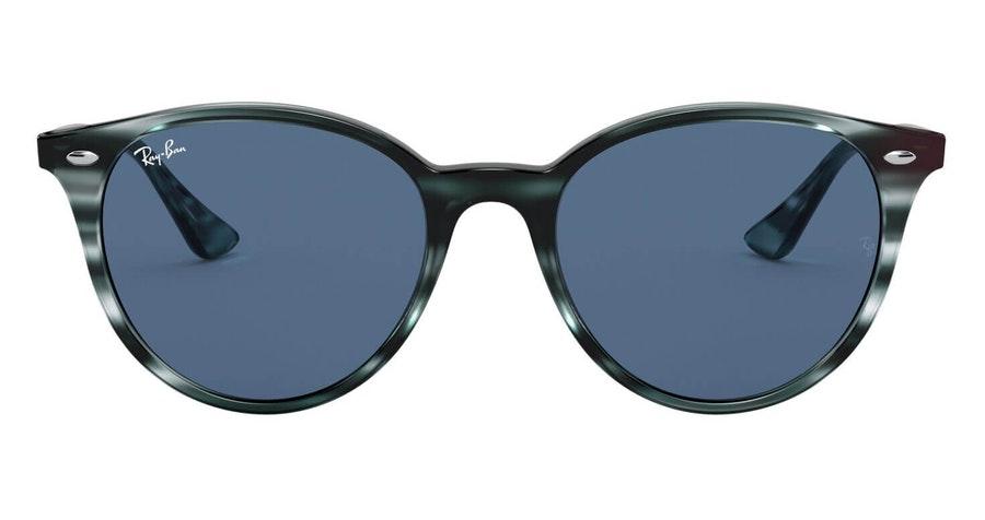 Ray-Ban RB 4305 (643280) Sunglasses Blue / Tortoise Shell