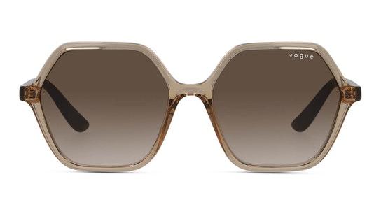 VO 5361S Women's Sunglasses Brown / Transparent