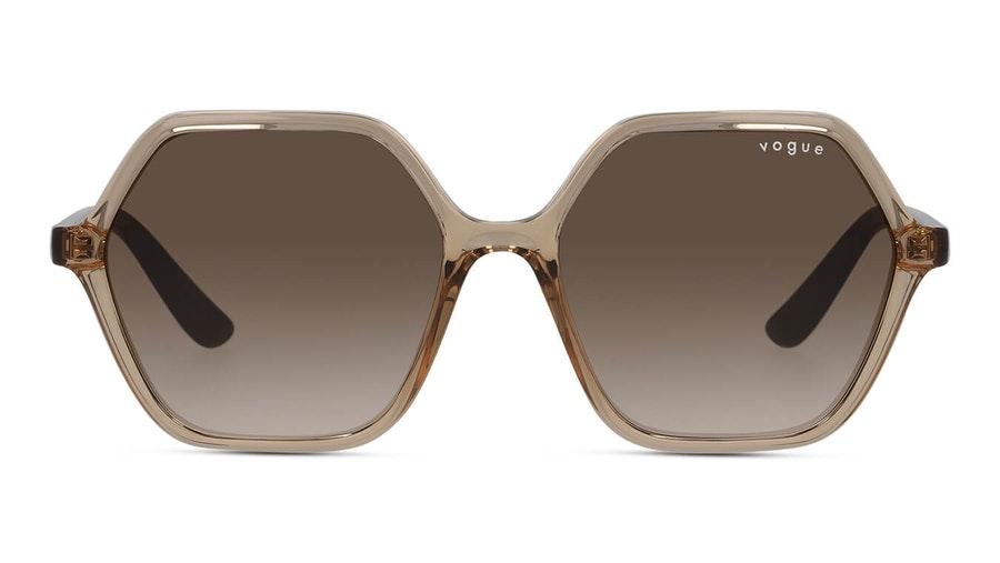 Vogue VO 5361S (282613) Sunglasses Brown / Transparent