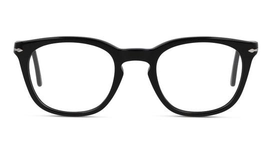 PO 3258V Unisex Glasses Transparent / Black