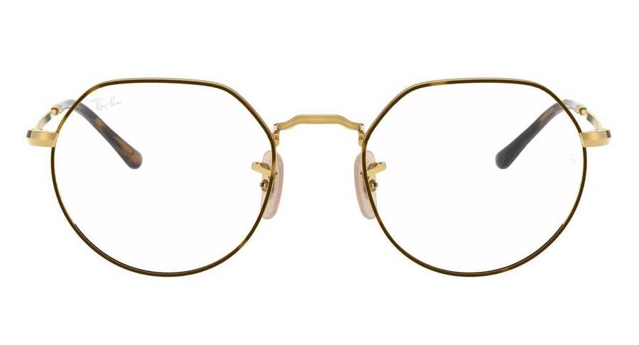 Ray-Ban Jack RX 6465 Unisex Glasses Tortoise Shell