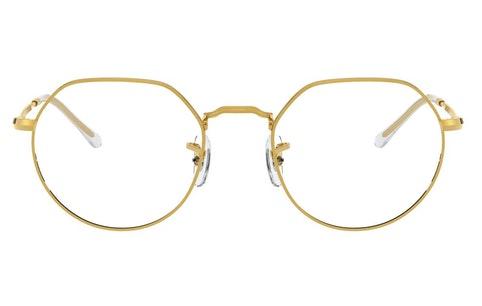 Jack RX 6465 Unisex Glasses Transparent / Gold