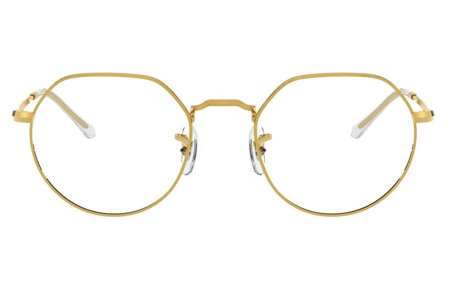 Ray-Ban Jack RX 6465 Unisex Glasses Gold