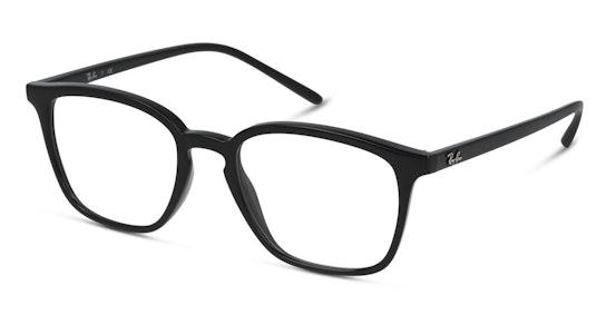 RX 7185 Unisex Glasses Transparent / Black
